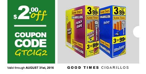 Good Times Cigarillos