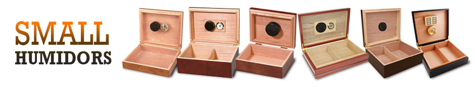 Small Cigar Humidors
