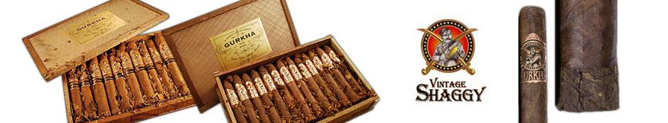 Gurkha Vintage Shaggy Cigars