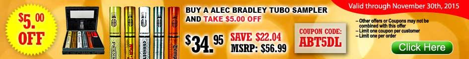 Alec Bradley Tubo Sampler Cigars