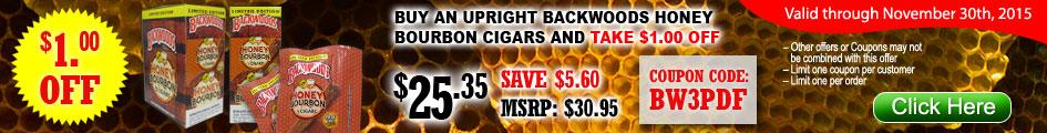 Backwoods Honey Bourbon Cigars