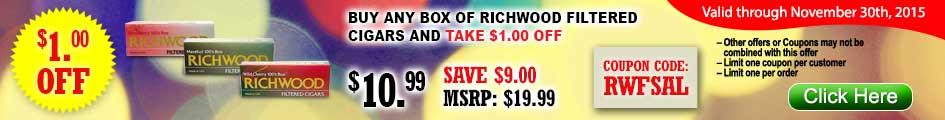 Richwood Filtered Cigars