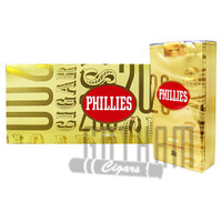 Phillies Filtered Cigars Gold carton & pack