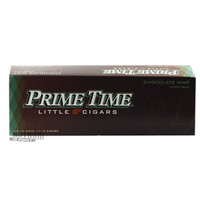 Prime Time Little Cigars Chocolate Mint carton