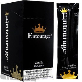 Entourage Natural Vanilla upright & foilpack