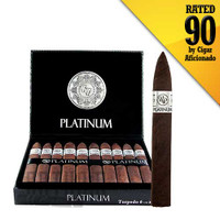 Rocky Patel Platinum Torpedo rated by Cigar Aficionado