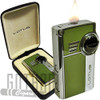 Lotus L51 Genesis Two Flame Lighter Green