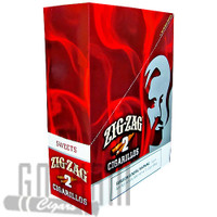 Zig Zag Cigarillos Sweet upright