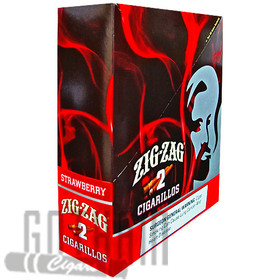 Zig Zag Cigarillos Strawberry upright