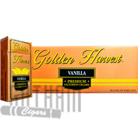 Golden Harvest Filtered Cigars Vanilla carton & pack