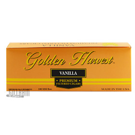 Golden Harvest Filtered Cigars Vanilla carton