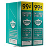 Swisher Sweets Cigarillos Tropical Fusion 2 for $0.99 upright & foilpack
