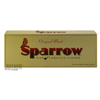 Sparrow Filtered Large Cigars Original carton
