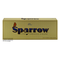 Sparrow Filtered Large Cigars Mild Blue carton