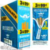 Splitarillos Da Bomb Blueberry Cigarillos 3 for 0.99 upright & foilpack
