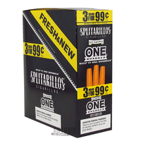 Splitarillos One Hundred Cigarillos 3 for 0.99 Box