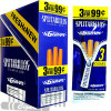 Splitarillos G6 Grape Cigarillos 3 for 0.99 upright & foilpack