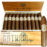 AVO Heritage Series Short Torpedo Cigars Box & Stick