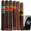 Rocky Patel Best of the Best 6 Cigar Sampler Sticks & Lighter