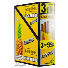Good Times Cigarillos Pineapple Pouch upright