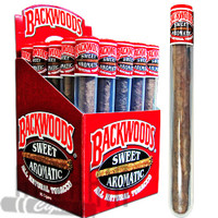 Backwoods Cigars Tube Sweet Aromatic Box & Stick