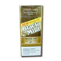 Black And Mild Wood Tip Upright