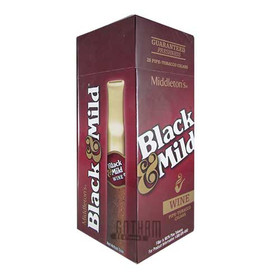 Black And Mild Wine Upright