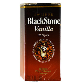 Blackstone Filtered Cigars Vanilla pack