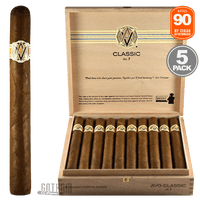 AVO No. 3 Box & 5 Pack Rated 90