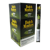 Dutch Masters Cigarillos Vanilla (Green) Upright