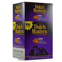 Dutch Masters Cigarillos Grape Upright Box