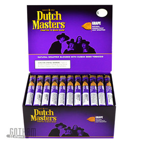 Dutch Masters Corona Grape box