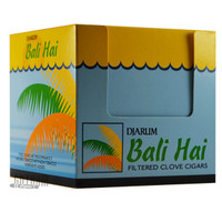 Djarum Filtered Clove Cigars Bali-Hai Box