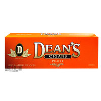 Dean's Large Cigars Peach 100 carton & pack