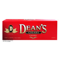 Dean's Large Cigars Cherry 100 carton