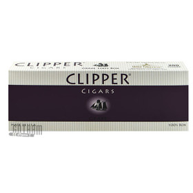 Clipper Filtered Cigars Grape 100's carton