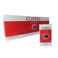 Clipper Filtered Cigars Full Flavor 100's carton & pack