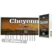 Cheyenne Filtered Cigars Classic Light 100's carton & pack