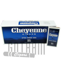 Cheyenne Filtered Cigars Xotic Berry 100's carton & pack