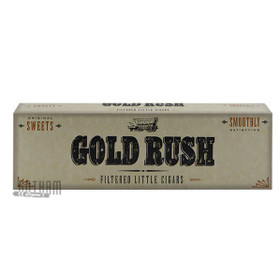 Gold Rush Little Cigars Sweets carton