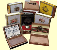 Empty Cigar Box - Assorted