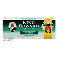 King Edward Filtered Cigars Ice Menthol carton