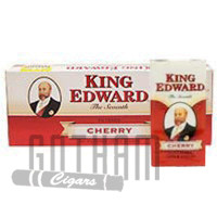 King Edward Filtered Cigars Cherry carton & pack