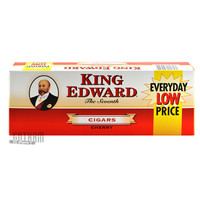 King Edward Filtered Cigars Cherry carton