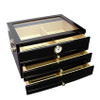 The Palermo Cigar Humidor Open Box