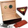 The Capri Starter Kit Cigar Humidor - Kit