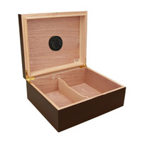 The Capri Cigar Humidor Open