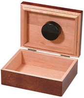 The Asti Cigar Humidor Box Open