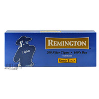 Remington Filtered Cigars Lights carton