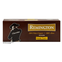 Remington Filtered Cigars Chocolate carton & pack